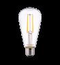 Noxion Lucent Classic LED Filament ST64 E27 6.5W 827 Kirkas | Erittäin Lämmin Valkoinen - Korvaa 60W