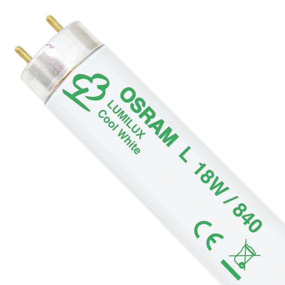 Osram L 18W 840 Lumilux | 59cm - Kylmä Valkoinen