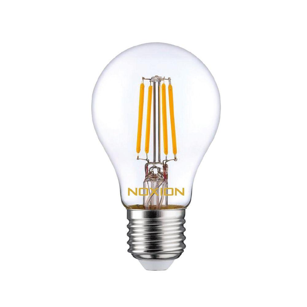 Noxion Lucent Filament LED Bulb 7W 827 A60 E27 Kirkas | Himmennettävä - Erittäin Lämmin Valkoinen - Korvaa 60W