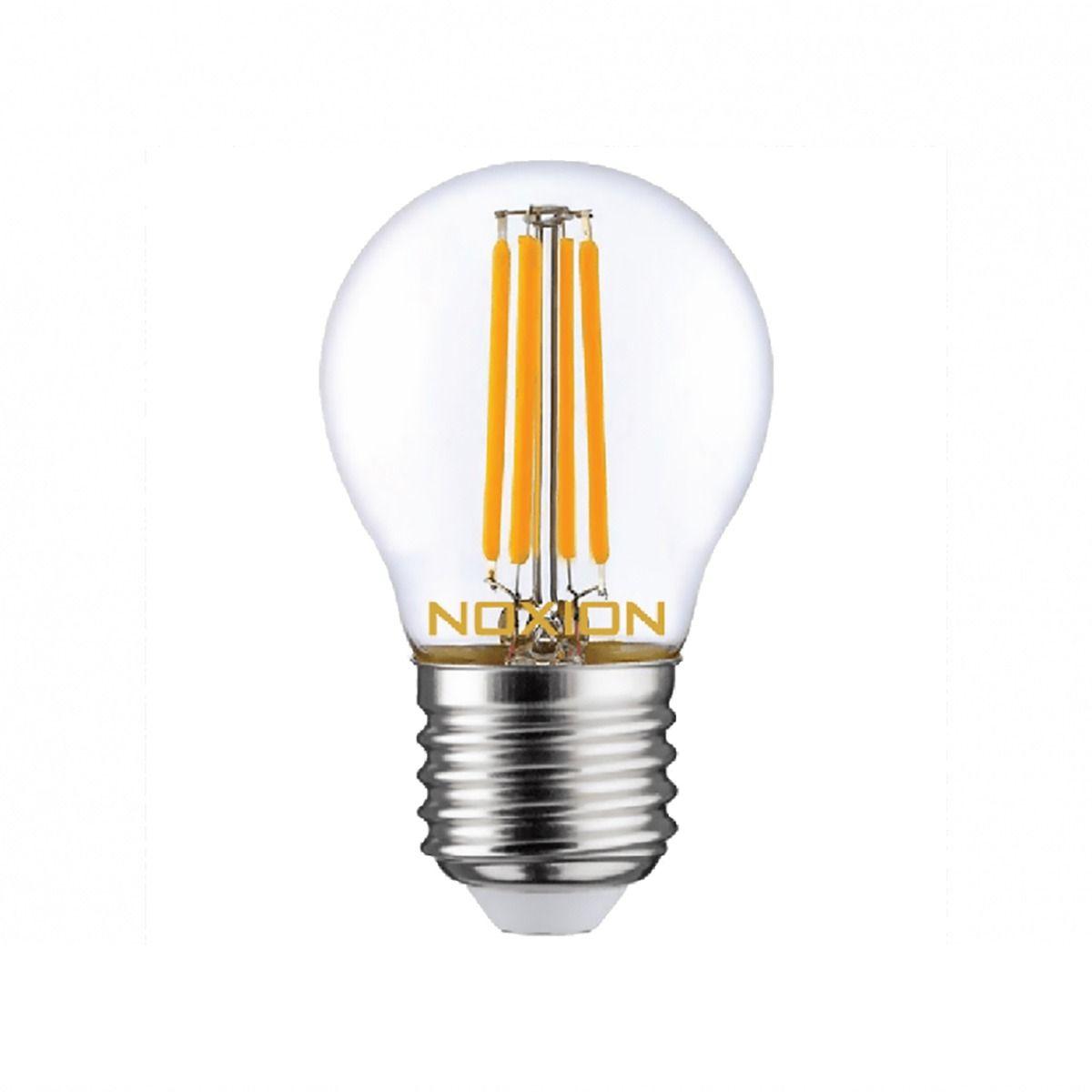 Noxion Lucent Filament LED Lustre 4.5W 827 P45 E27 Kirkas | Erittäin Lämmin Valkoinen - Korvaa 40W