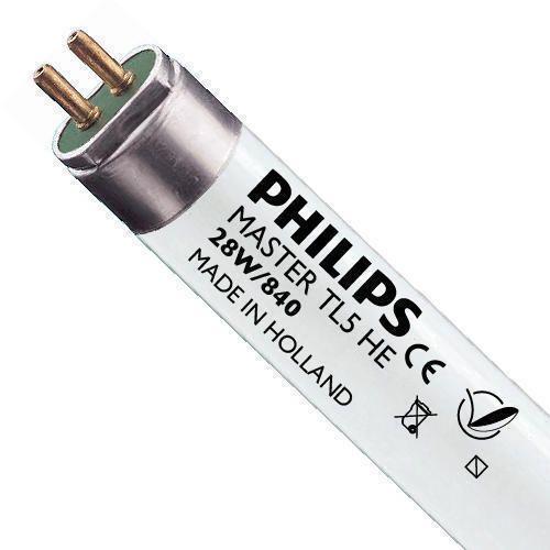 Philips TL5 HE 28W 840 (MASTER) | 115cm - Kylmä Valkoinen