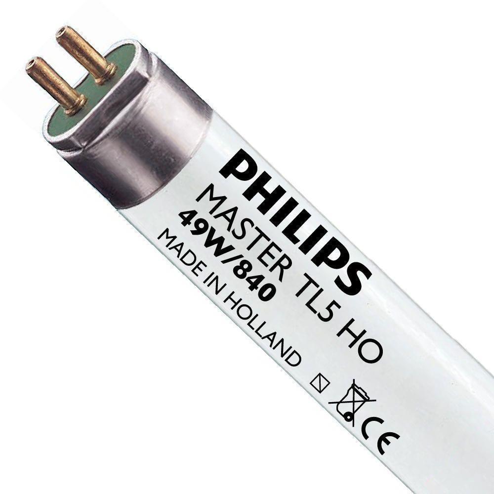 Philips TL5 HO 49W 840 (MASTER)   145cm - Kylmä Valkoinen