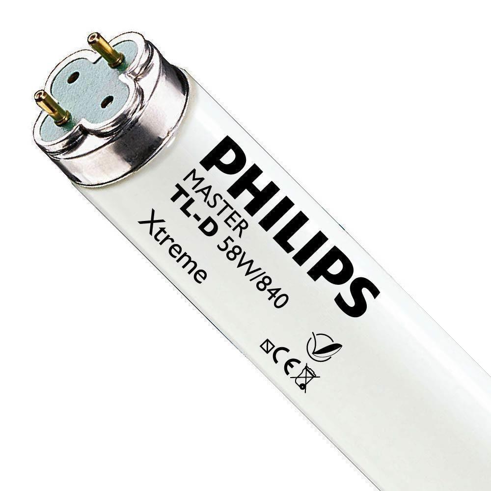 Philips TL-D Xtreme 58W 840 (MASTER)   150cm - Kylmä Valkoinen