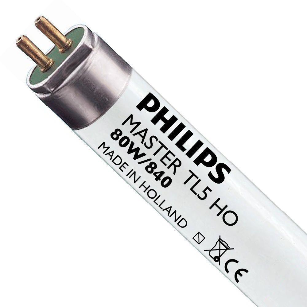 Philips TL5 HO 80W 840 (MASTER)   145cm - Kylmä Valkoinen