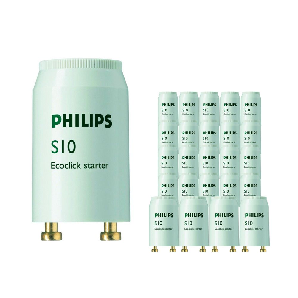 Monipakkaus 25x Philips S10 Starter 4-65W SIN