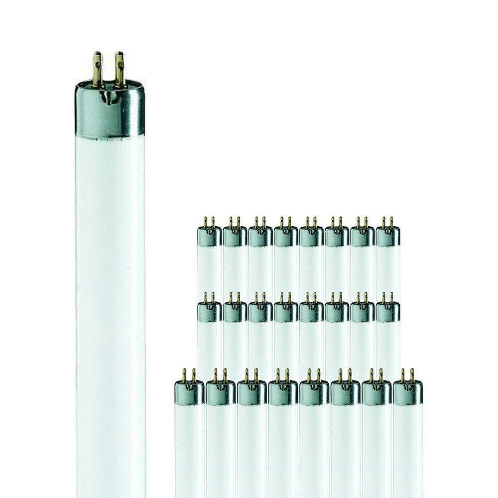 Monipakkaus 25x Philips TL Mini 8W 33-640 | 29cm - Kylmä Valkoinen