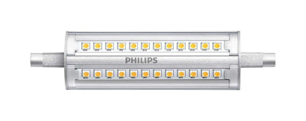 Philips CorePro R7s 14W 830 118mm | Himmennettävä - Korvaa 100W