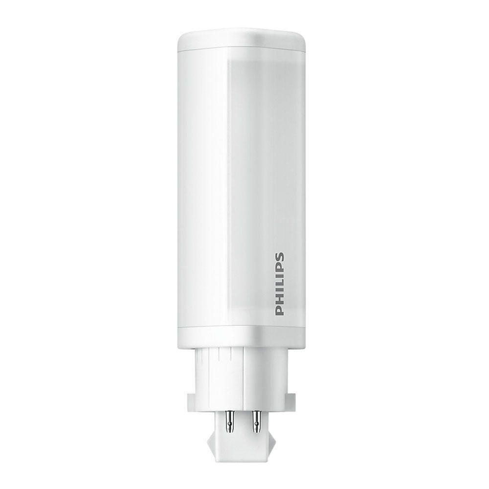 Philips CorePro PL-C LED 4.5W 840 | Kylmä Valkoinen - 4-nastaa - Korvaa 10W & 13W