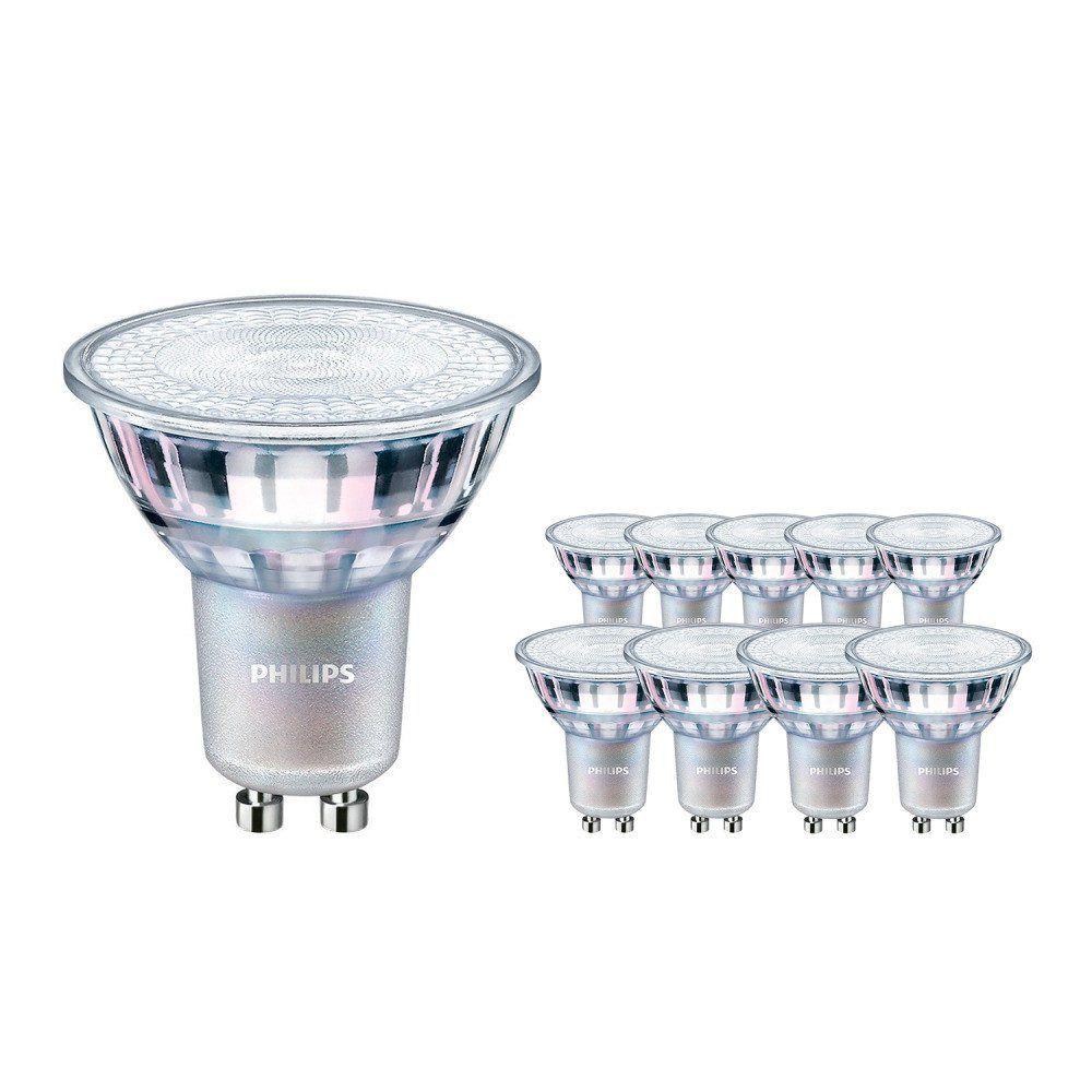 Monipakkaus 10x Philips LEDspot MV Value GU10 4.9W 927 36D (MASTER)   Paras Värintois- DimTone Himmennettävä - Korvaa 50W