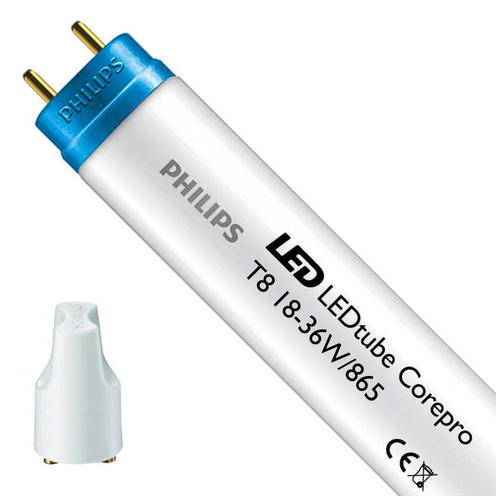 Philips CorePro LEDtube EM/MAINS HO 18W 865 120cm | Päivänvalo Valkoinen - Sisältää sytyttimen - Korvaa 36W