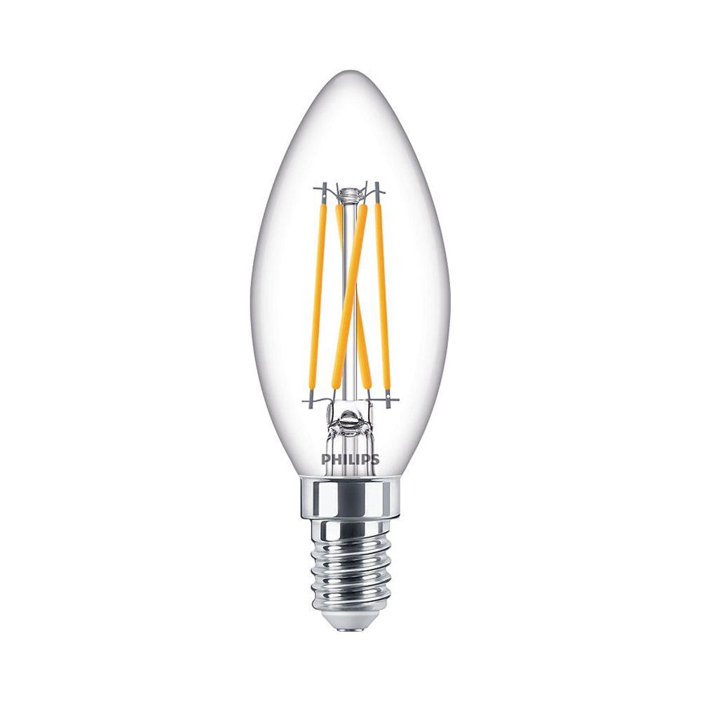 Philips Classic LEDcandle B35 E14 4.5W 927 470lm | DimTone - Erittäin Lämmin Valkoinen - Korvaa 40W