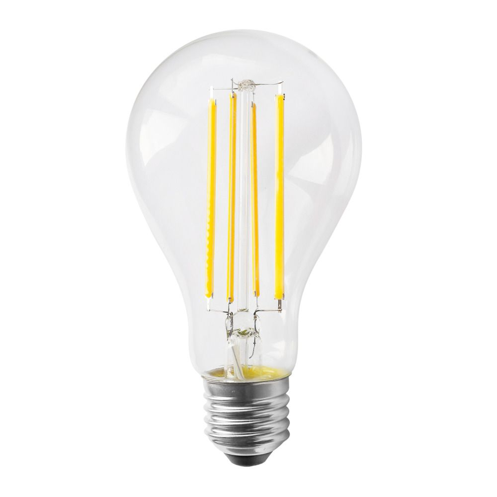Noxion Lucent Classic LED Filament A70 E27 12W 827 Kirkas   Erittäin Lämmin Valkoinen - Korvaa 100W