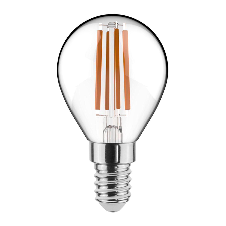 Noxion Lucent Filament LED Lustre 4.5W 827 P45 E14 Kirkas | Himmennettävä - Erittäin Lämmin Valkoinen - Korvaa 40W