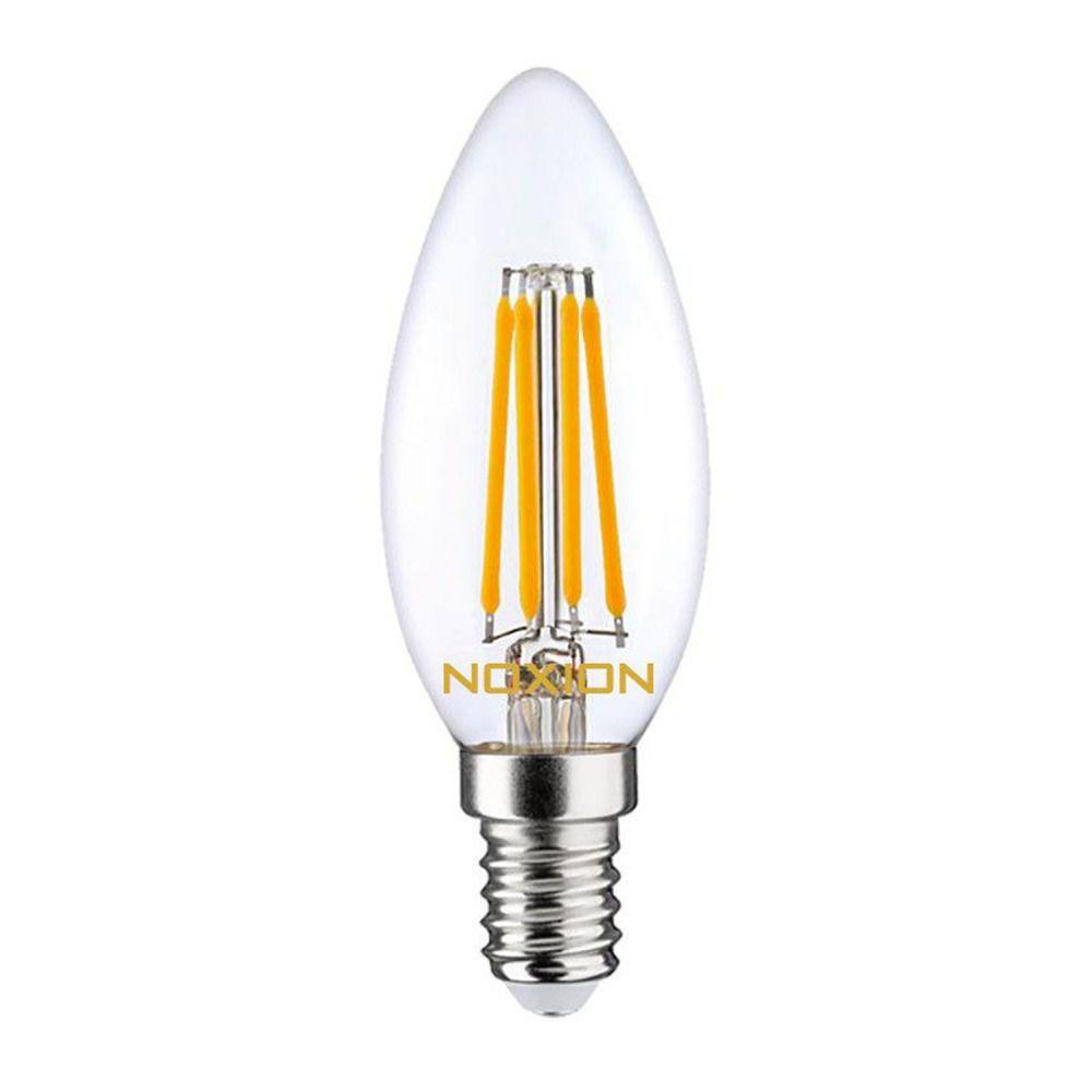 Noxion Lucent Filament LED Candle 4.5W 827 B35 E14 Kirkas | Erittäin Lämmin Valkoinen - Korvaa 40W