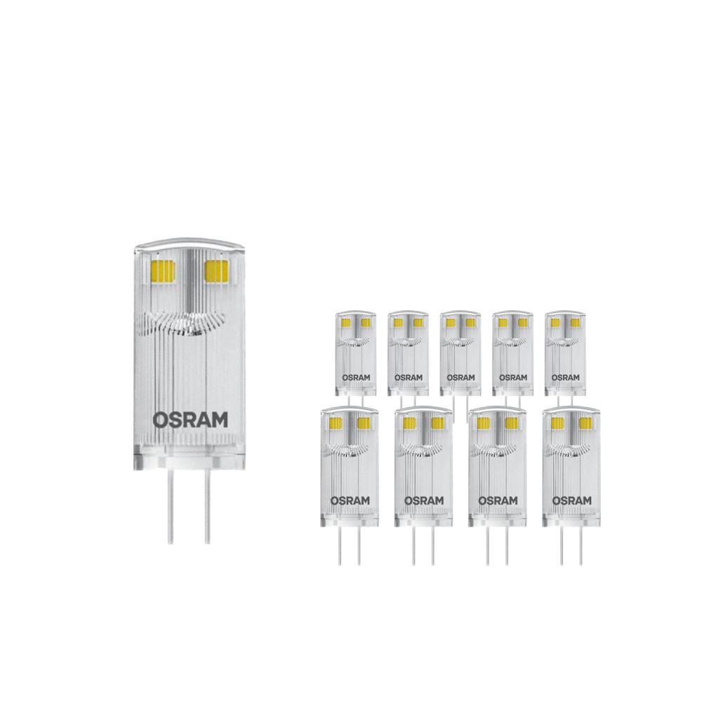 Monipakkaus 20x Osram LED P PIN10 _W/827 12V CL G4