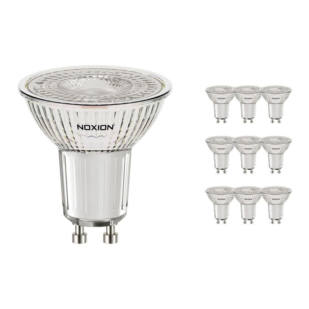 Monipakkaus 10x Noxion LED Kohdevalaisin PerfectColor GU10 4W 927 60D 310lm | Himmennettävä - Erittäin Lämmin Valkoinen - Korvaa 35W