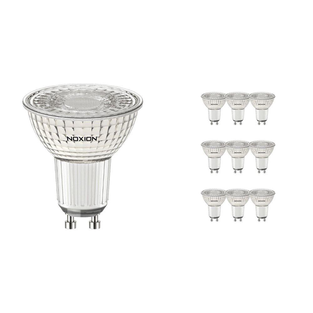 Monipakkaus 10x Noxion LED Kohdevalaisin PerfectColor GU10 4W 930 60D 310lm | Himmennettävä - Lämmin Valkoinen - Korvaa 35W