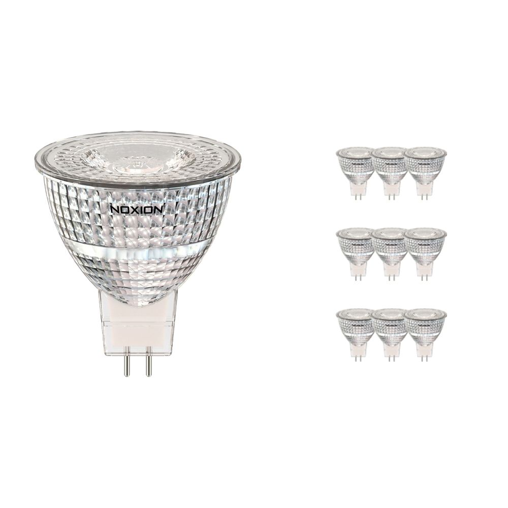 Monipakkaus 10x Noxion LED Kohdevalaisin GU5.3 7.8W 840 36D 730lm   Kylmä Valkoinen - Korvaa 50W