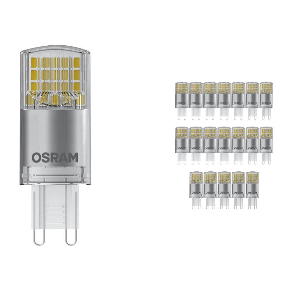 Monipakkaus 20x Osram Parathom Pin G9 3.8W 827 Kirkas | Korvaa 40W