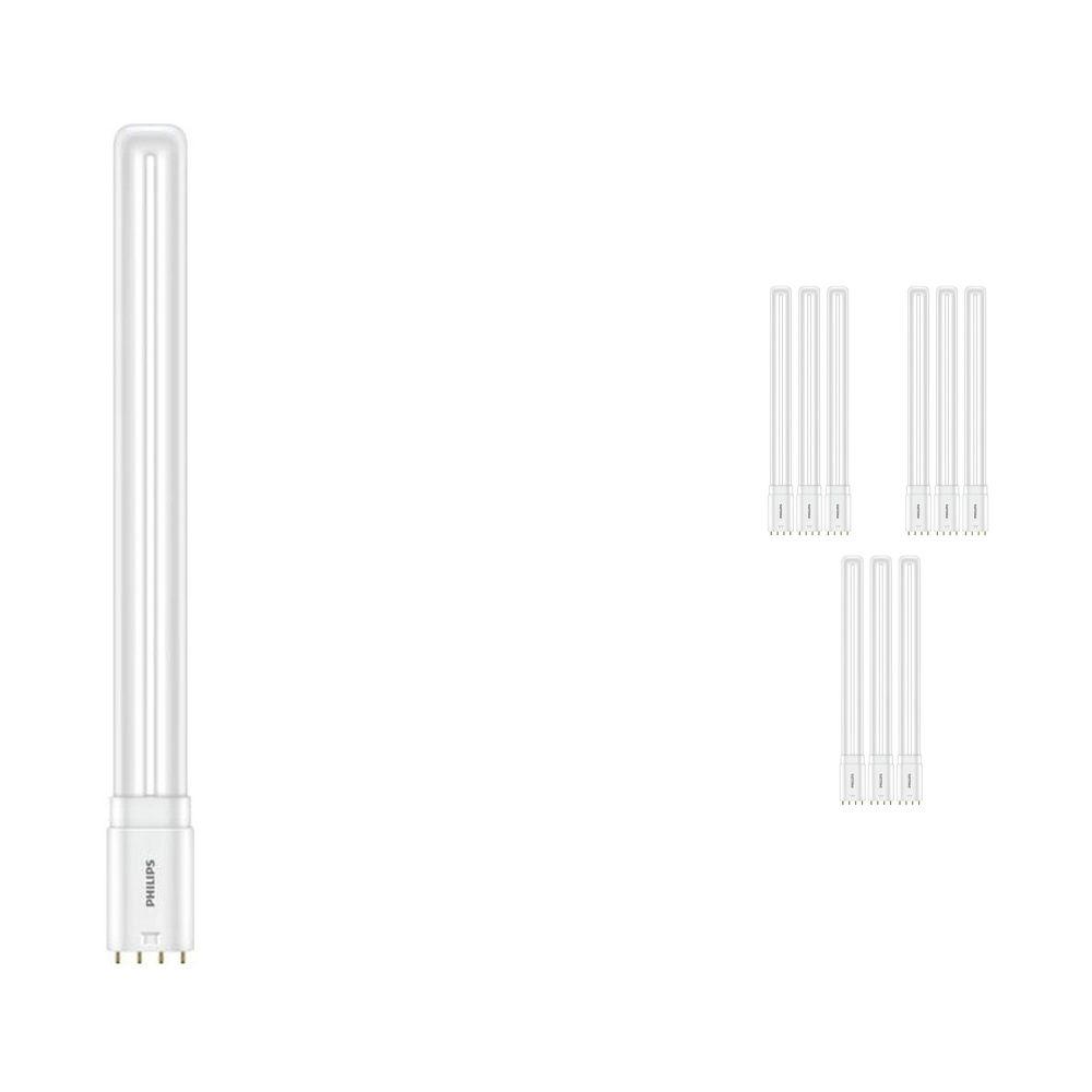 Monipakkaus 10x Philips CorePro PL-L HF LED 16.5W 865 | Päivänvalo Valkoinen - 4-nastaa - Korvaa 36W
