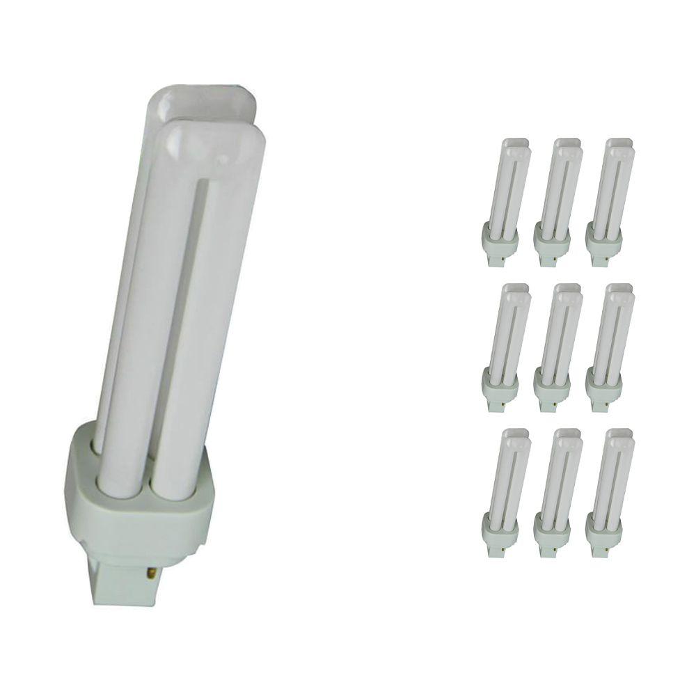 Monipakkaus 10x Osram Dulux D 18W 830 | Lämmin Valkoinen - 2-nastaa