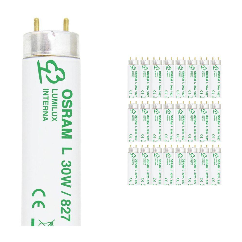 Monipakkaus 25x Osram L 30W 827 Lumilux Interna | 89.5cm - Erittäin Lämmin Valkoinen
