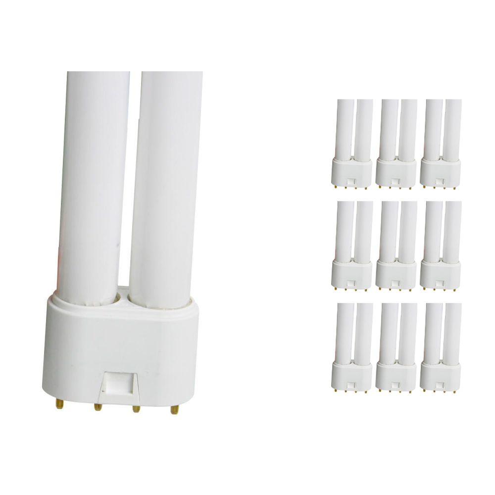 Monipakkaus 10x Osram Dulux L 36W 830 | Lämmin Valkoinen - 4-nastaa