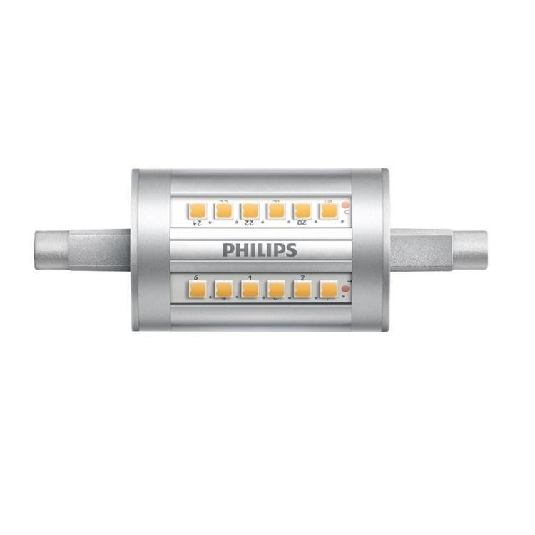 Philips CorePro LEDlinear R7s 7.5W 840 78mm   Korvaa 60W