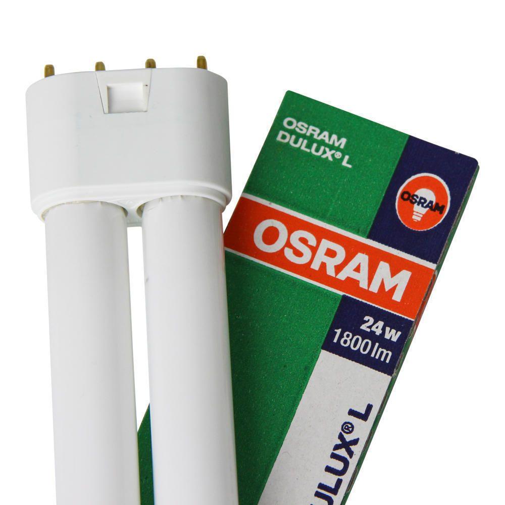 Osram Dulux L 24W 840 | Kylmä Valkoinen - 4-Nastaa