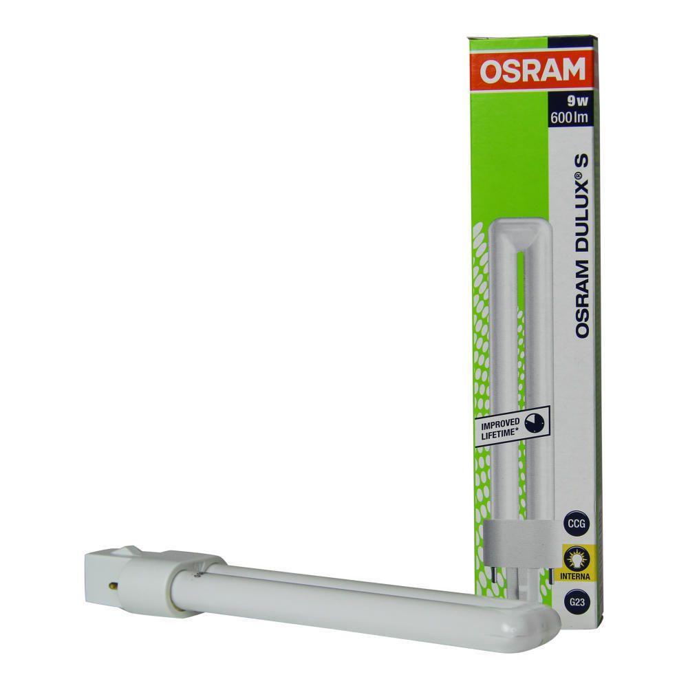 Osram Dulux S 9W 827 | Erittäin Lämmin Valkoinen - 2-Nastaa