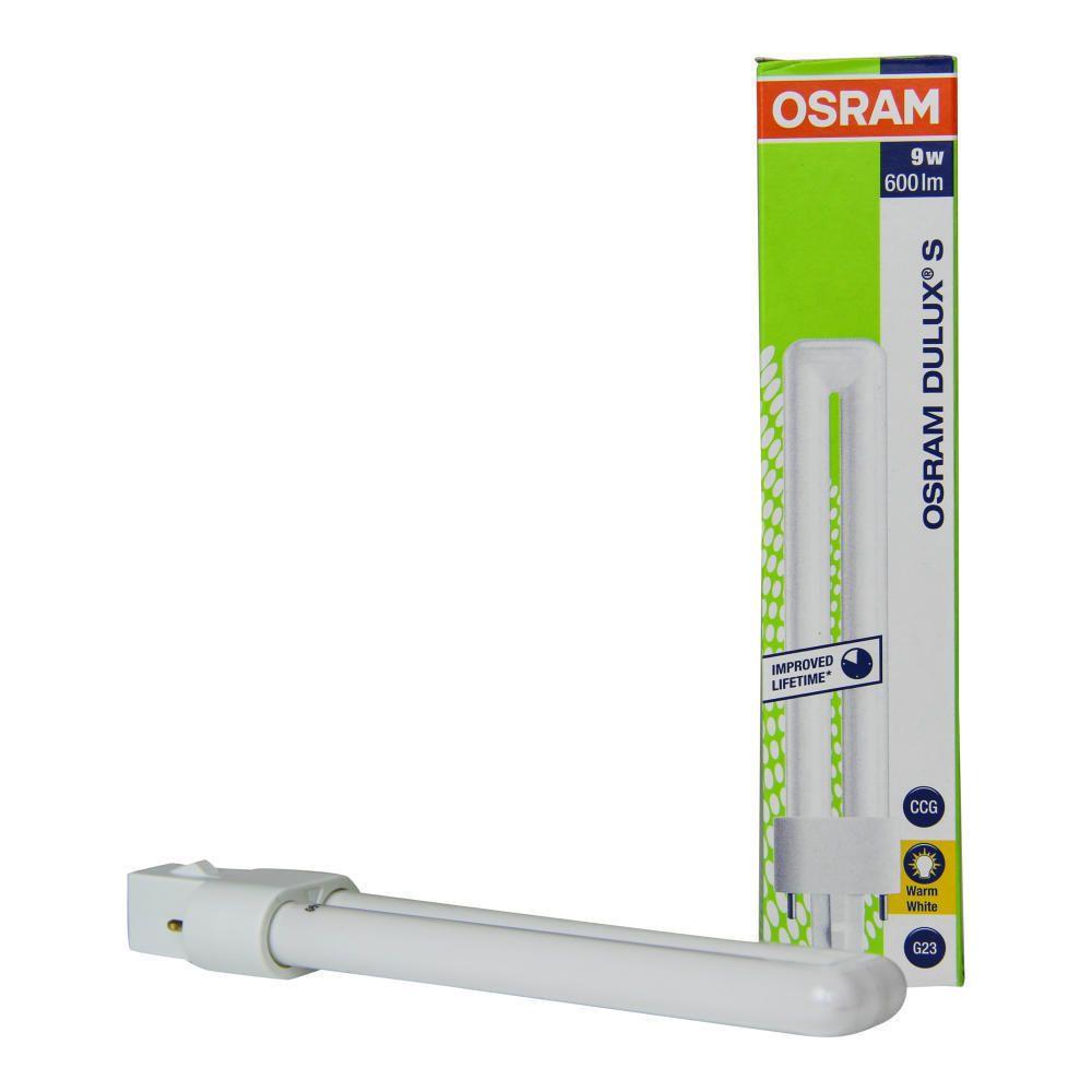 Osram Dulux S 9W 830 | Lämmin Valkoinen - 2-Nastaa