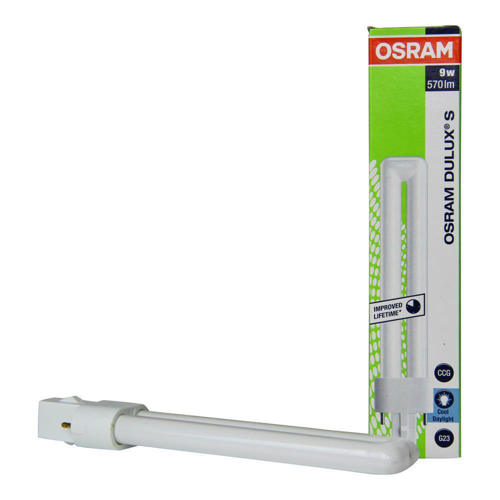 Osram Dulux S 9W 865   Päivänvalo Valkoinen - 2-Nastaa