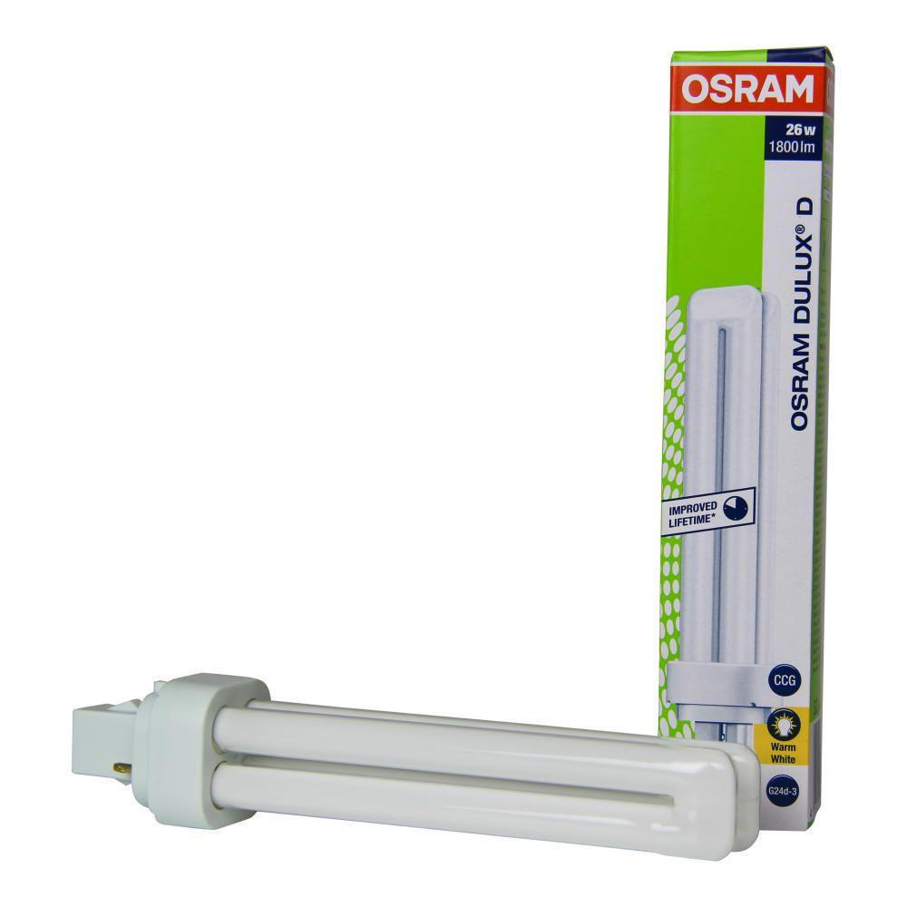 Osram Dulux D 26W 830 | Lämmin Valkoinen - 2-Nastaa