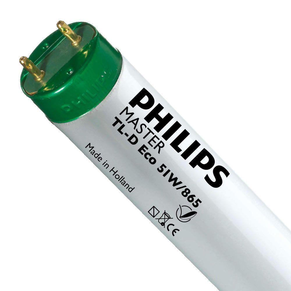 Philips TL-D Eco 51W 865 (MASTER)   150cm - Päivänvalo Valkoinen