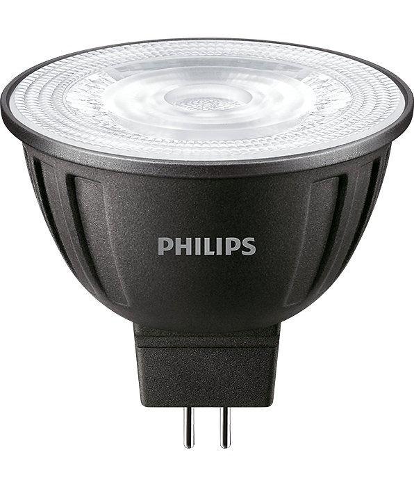 Philips LEDspot LV GU5.3 MR16 8W 840 36D (MASTER) | Kylmä Valkoinen - Himmennettävä - Korvaa 50W