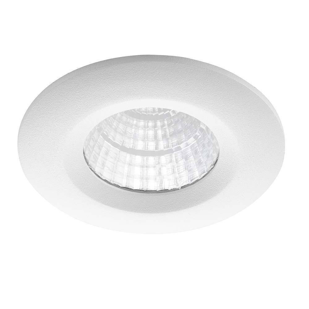 Noxion LED Kohdevalaisin Forseti IP44 2700K Valkoinen 6W | Paras Värintoisto - Himmennettävä