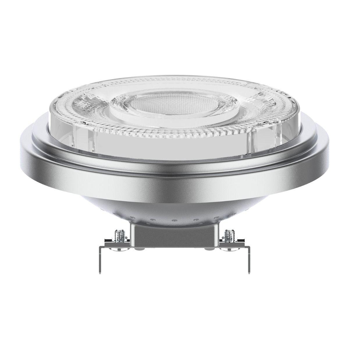 Noxion Lucent LED Kohdevalaisin AR111 G53 12V 7.3W 930 24D | Himmennettävä - Paras Värintois- Korvaa 50W