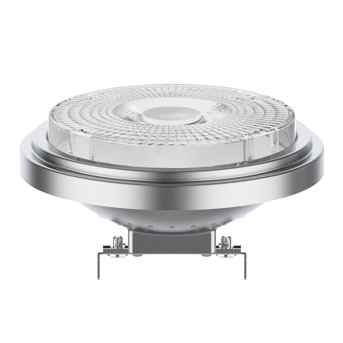 Noxion Lucent LED Kohdevalaisin AR111 G53 12V 7.3W 927 40D | Himmennettävä - Paras Värintois- Korvaa 50W