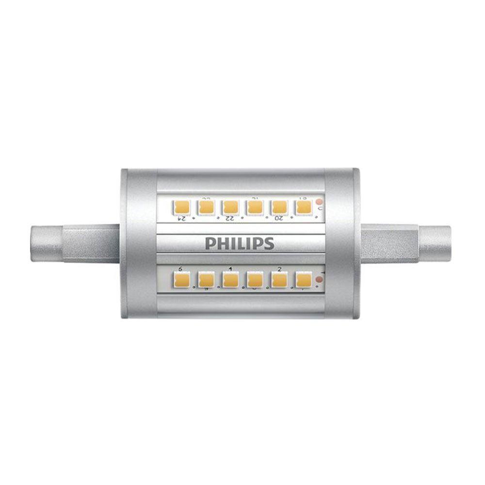 Philips CorePro LEDlinear R7s 7.5W 830 78mm   Korvaa 60W
