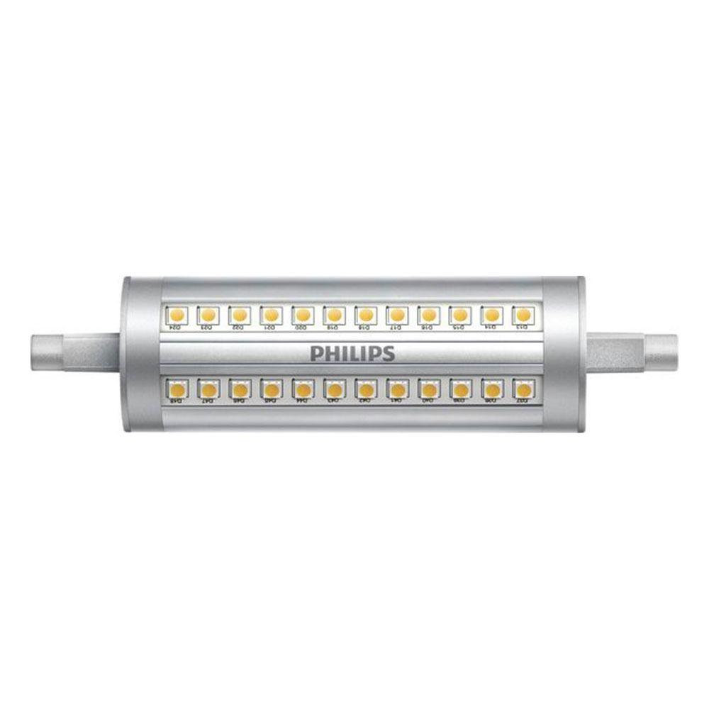 Philips CorePro LEDlinear R7s 14W 830 118mm | Himmennettävä - Korvaa 120W