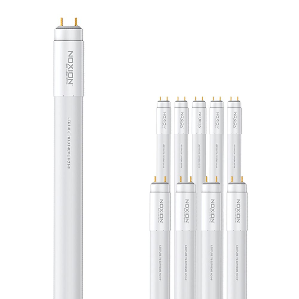 Monipakkaus 10x Noxion Avant LEDtube T8 Extreme HO HF 120cm 14W 830 | Lämmin Valkoinen - Korvaa 36W