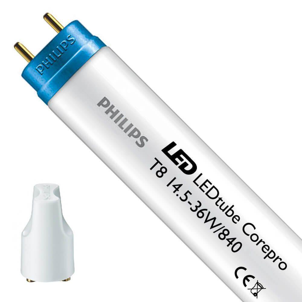 Philips CorePro LEDtube EM 14.5W 840 120cm   Kylmä Valkoinen - Sisältää sytyttimen - Korvaa 36W