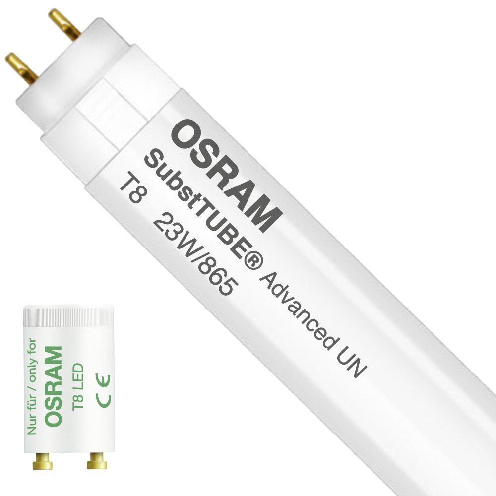 Osram SubstiTUBE Advanced UO UN 23W 865 150cm   Päivänvalo Valkoinen - Incl. LED Starter - Korvaa 58W