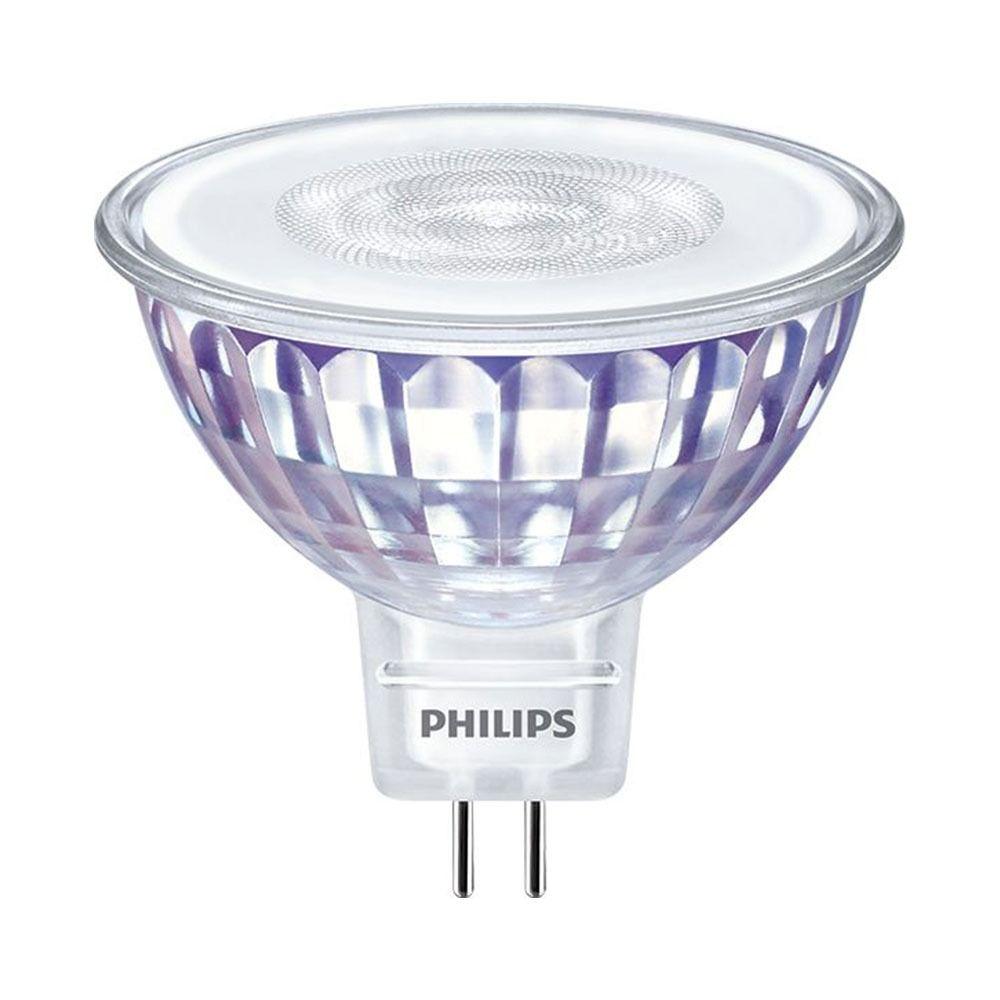 Philips LEDspot LV Value GU5.3 MR16 5.5W 840 36D (MASTER) | Kylmä Valkoinen - Himmennettävä - Korvaa 35W