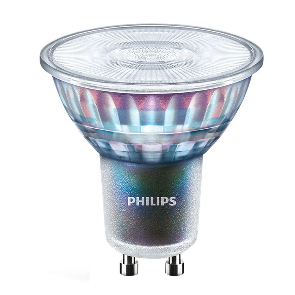 Philips LEDspot ExpertColor GU10 5.5W 927 36D (MASTER) | Paras Värintoisto - Erittäin Lämmin Valkoinen - Himmennettävä - Korvaa 50W