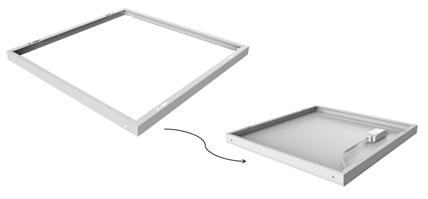 Noxion LED-paneelejen kehys