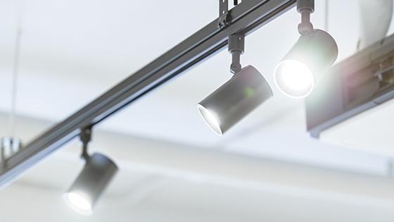 GU5.3 LED-Spottivalo raidevalaistuksessa