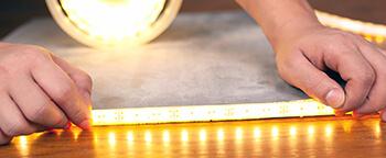 LED nauhan mittaus