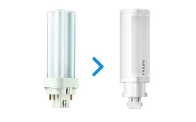 PL-C & Dulux LED korvaajat