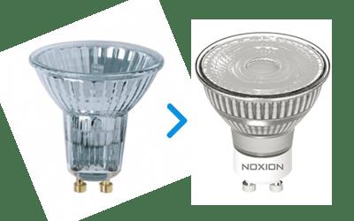 Halogeenien LED korvaajat